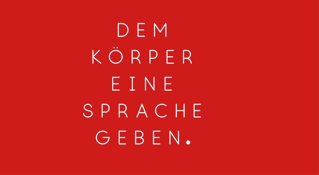 TANZWERK Slogan