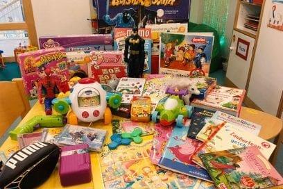AKTION – Kinder spenden für Kinder