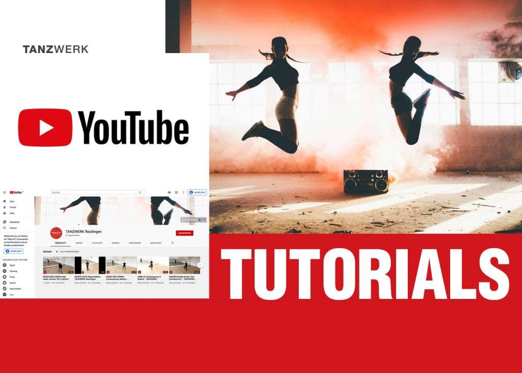 TANZWERK YouTube Tutorials Tanzen Choreografie Show